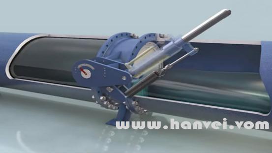武汉3D机械产品动画制作:兰高阀工作原理演示