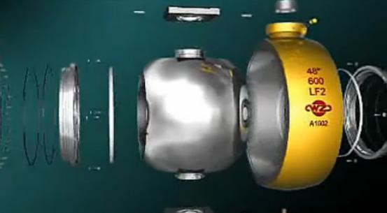 球形阀 神奇的介质阻挡物图片