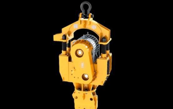 武汉三维机械产品动画制作DZ系列振动锤:万丈平地起 高度在于它