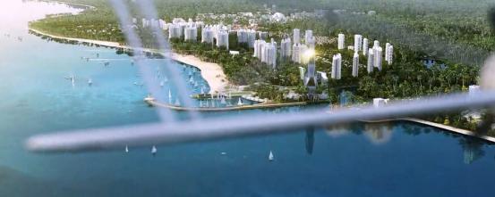 三维动画演绎海南岛上的明珠